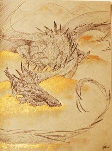 Dragon by Kaitlund Zupanic