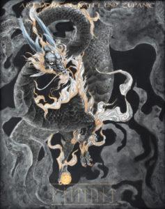 Drakon Infinitus by Kaitlund Zupanic