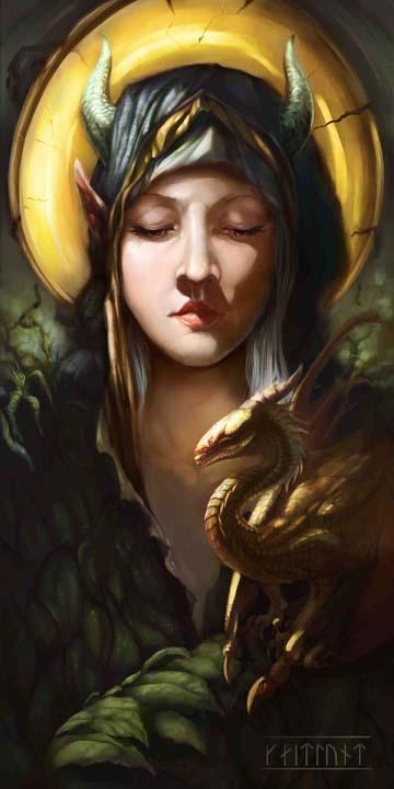 Draconus Angelus By Kaitlund Zupanic
