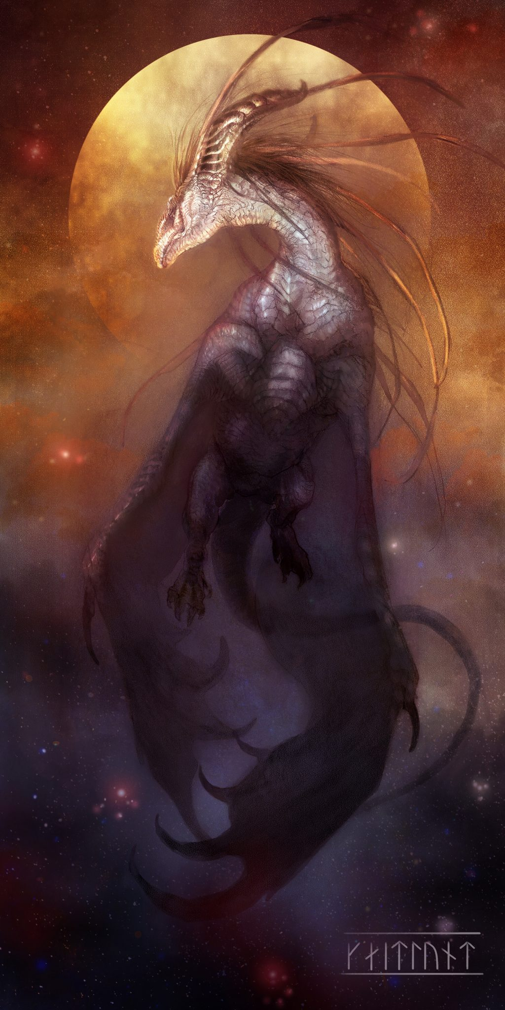 Ascension of Hiraeth by Kaitlund Zupanic