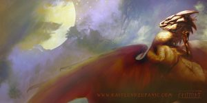 Ramoth The Golden by Kaitlund Zupanic