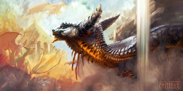 Dragons Guard by Kaitlund Zupanic
