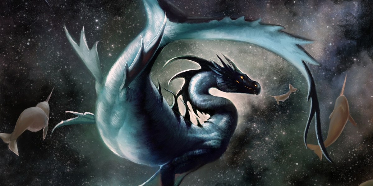 Cosmic Seas by Kaitlund Zupanic