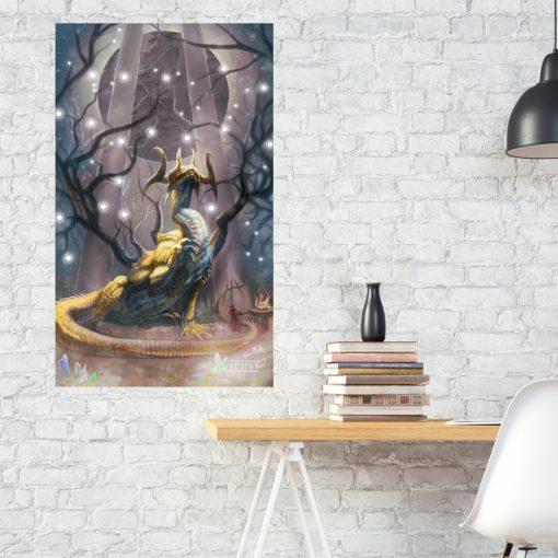Patron of Wisdom by Kaitlund Zupanic
