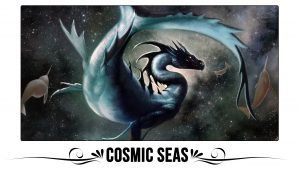 Cosmic Seas Playmat