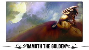 Ramoth The Golden Playmat
