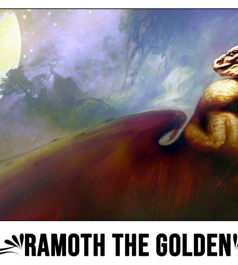 Ramoth The Golden Playmat