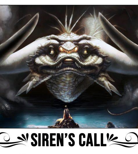 Sirens Call Playmat