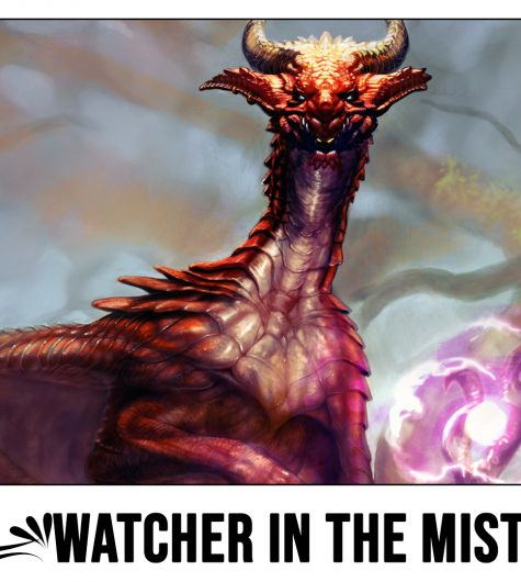 Watcher In The Mist Playmat