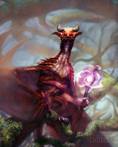 Watcher in the Mists by Kaitlund Zupanic