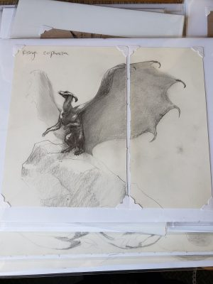 Unfinished Drawing 7 by Kaitlund Zupanic