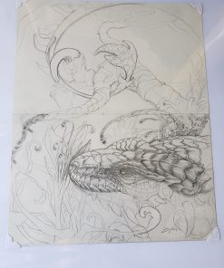 Unfinished Drawing 3 by Kaitlund Zupanic