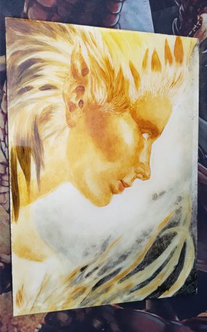 Unfinished Painting 1 by Kaitlund Zupanic