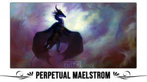 Perpetual Maelstrom Playmat by Kaitlund Zupanic