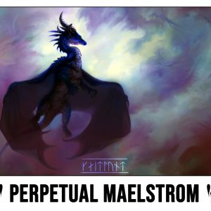 Perpetual Maelstrom Playmat by Kaitlund Zupanic
