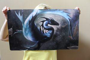 Cosmic Seas Playmat