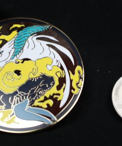 Dragons Kill With Fire - Yin and Yang Pin