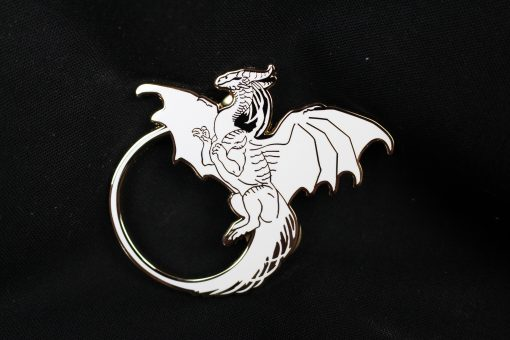Dragons Kill With Fire - Hiraeth Pin