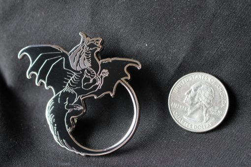 Dragons Kill With Fire - Goliath Pin